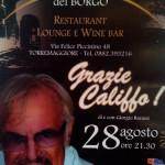 """""""La Terrazza del Borgo e l'omaggio al Califfo"""" appuntamento il 28 agosto 2014 a Torremaggiore"""