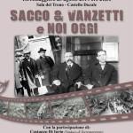 Torremaggiore 25 agosto 2014: anteprima mondiale della proiezione del funerale di Sacco e Vanzetti