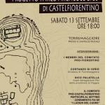 Progetto Parco Archeologico di CastelFiorentino, se ne parla il 13 settembre 2014 a Torremaggiore