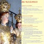 Festeggiamenti in onore di Maria SS.ma del Rosario, dal 4 al 7 ottobre 2014 a Torremaggiore