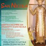 Programma Festa San Nicola Torremaggiore 6 dicembre 2014