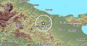 Tremano i Monti Frentani alle 12.40 ed alle 12.45 del 24 dicembre 2014, avvertite scosse anche a Torremaggiore