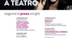 """""""Qualcosa rimane """" con Monica Guerritore il 6 febbraio 2016 al Teatro Luigi Rossi di Torremaggiore"""