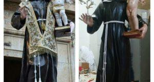 Ritorna a Torremaggiore il simulacro di Sant'Antonio da Padova il 28 maggio 2016, ecco il programma