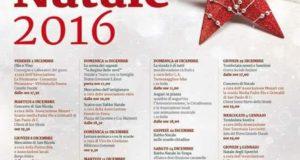 Programma Festività Natalizie a Torremaggiore, da dicembre 2016 a gennaio 2017