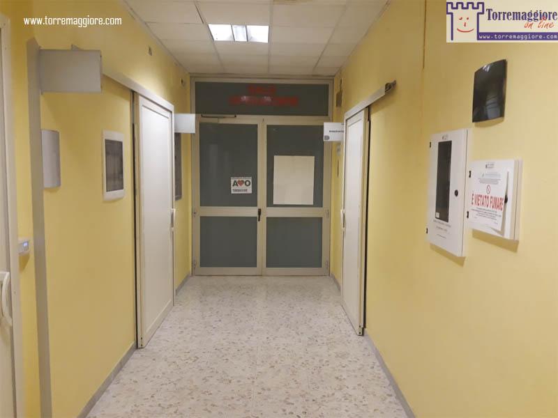 Storico ingresso Sale Operatorie dell'ex Ospedale San Giacomo di Torremaggiore - www.torremaggiore.com -