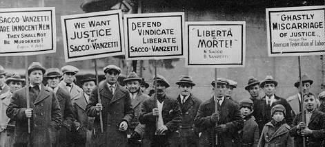 an essay on the trial of nicola sacco and bartolomeo vanzetti It reads like a personal reflection or essay  each day during the trial, sacco and vanzetti were  vita e morte di nicola sacco e bartolomeo vanzetti.