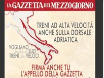 Petizione della GdM: Treni ad Alta velocità anche sulla Dorsale Adriatica
