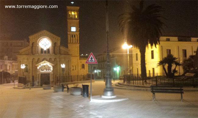 Neve Torremaggiore 31/12/2014 - www.torremaggiore.com -