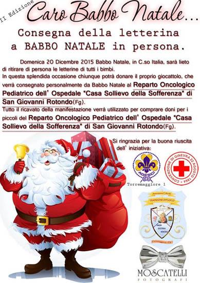 II Edizione Caro Babbo Natale il 20 dicembre 2015 a Torremaggiore