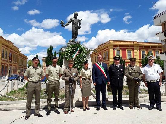 2 giugno 2016 Festa della Repubblica a Torremaggiore, il  discorso del Sub Commissario
