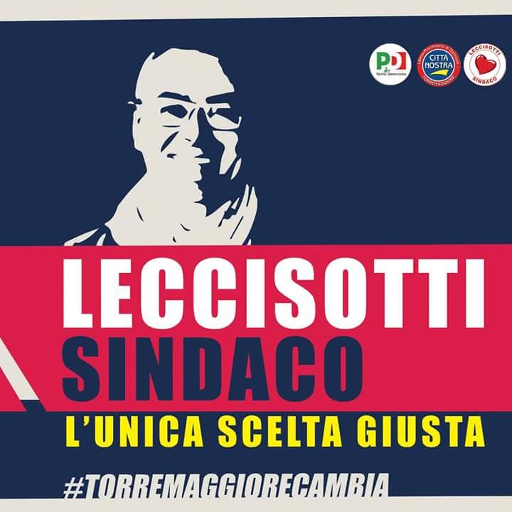 Ufficiale: nessun apparentamento tecnico per la coalizione che supporta alla carica di Sindaco Salvatore Leccisotti