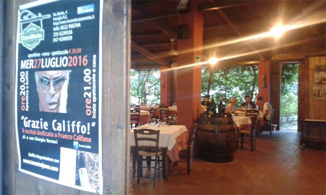 Grazie Califfo: una band torremaggiorese ( e l' olio Otto Ettari ) in Emilia il prossimo 27 luglio 2016