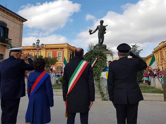 Resoconto fotografico delle celebrazioni del 4 novembre 2016 a Torremaggiore