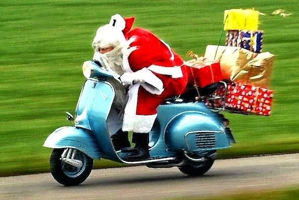 Babbo Natale in Vespa a Torremaggiore il 21 e 22 dicembre 2019