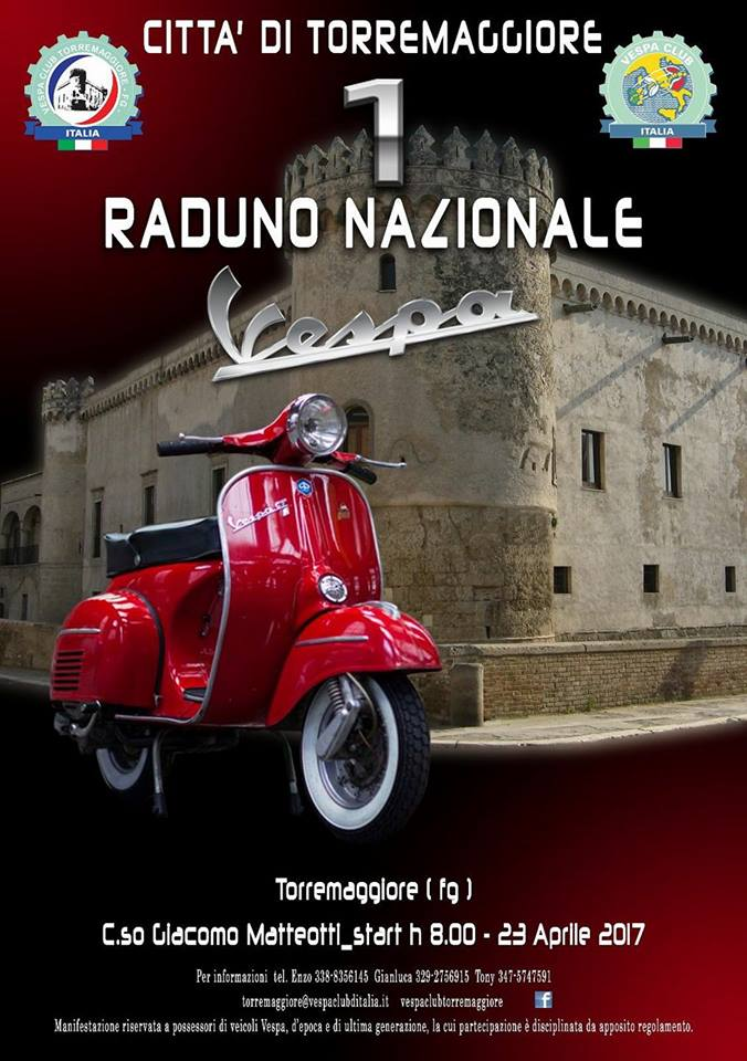 Raduno Vespa a Torremaggiore