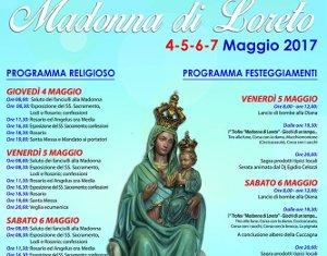 Festa della Madonna di Loreto a Torremaggiore dal 4 al 7 maggio
