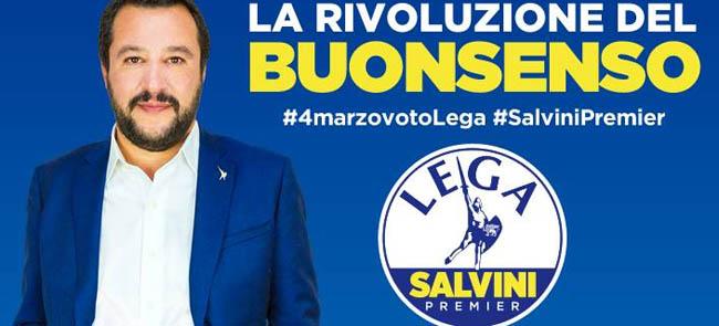 Splendido, Tadeo, Lella e Melchiorre a sostegno della Lega con Salvini Premier il 17 febbraio 2018 a Torremaggiore