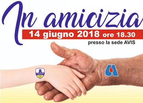 Il 14 giugno 2018 firma del protocollo tra Avis Torremaggiore e ASD La Torremaggiorese
