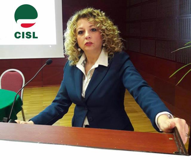 La torremaggiorese Carla Costantino è il nuovo segretario generale della Cisl di Capitanata