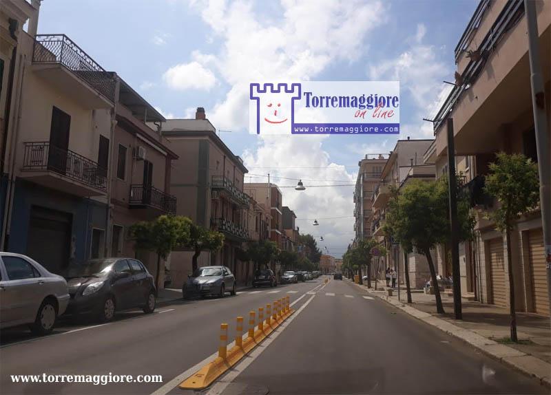 Nota della Polizia Locale di Torremaggiore per la circolazione dei veicoli su Via Luigi Rossi