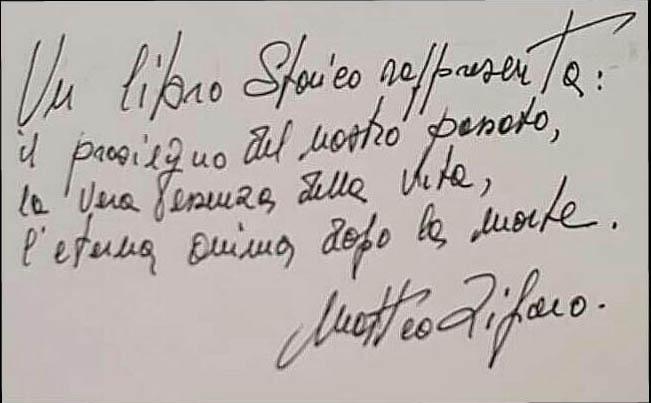 L 'ultimo saluto a Matteo Zifaro : restauratore ed insigne ricercatore e studioso della storia di Torremaggiore