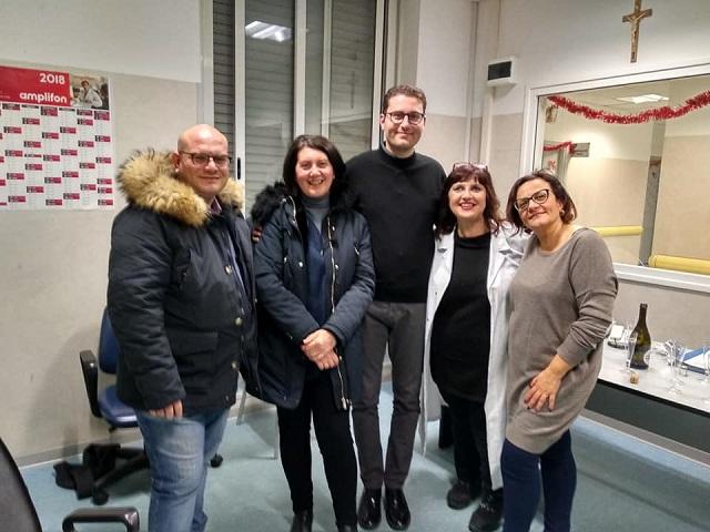 Una delegazione ha presenziato al PPIT di Torremaggiore alle ore 20.00 il cambio turno medico. Era dal 23/12/2018 che mancava il medico nella fascia notturna a Torremaggiore - www.torremaggiore.com -