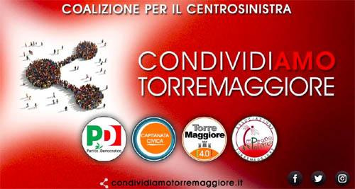 Elezioni amministrative 2019: nasce condividiamo Torremaggiore, la coalizione di centrosinistra