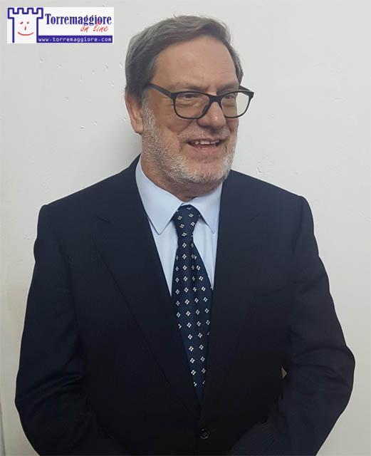 Raffaele FITTO a supporto di Leonardo De Vita il 3 giugno 2019 a Torremaggiore in Piazza della Repubblica
