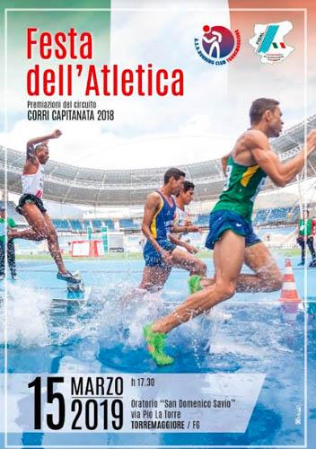 Festa dell'Atletica il 15 marzo 2019 a Torremaggiore