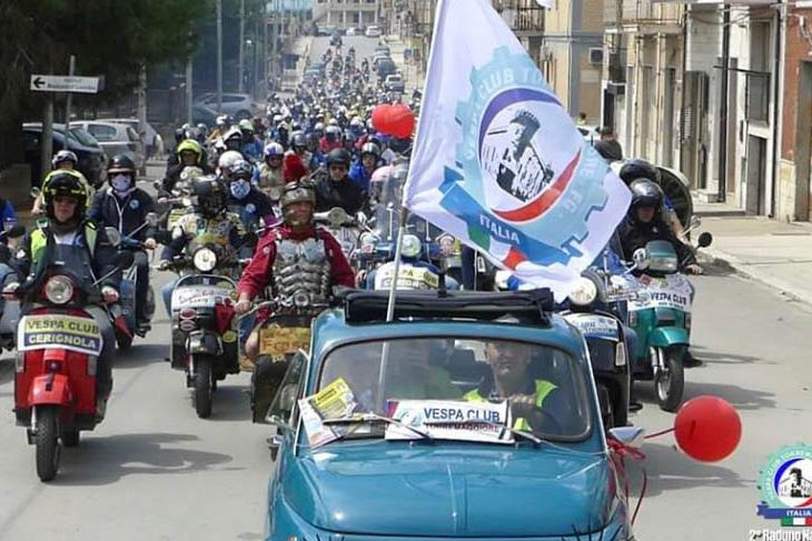 Raduno Nazionale dei Vespa Club a Torremaggiore: il resoconto di un successo