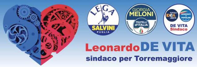 Ai comizi di De Vita il 2,4 e 5 maggio ci saranno:  Mussolini, Mele, De Leonardis, Fitto, Rescigno e Cirielli