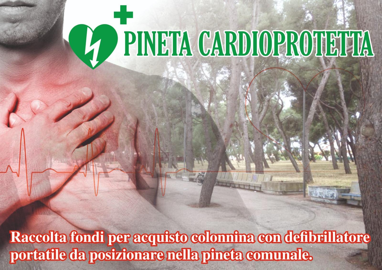 Avviata raccolta fondi su Facebook per acquistare un defibrillatore a Torremaggiore da localizzare in Pineta
