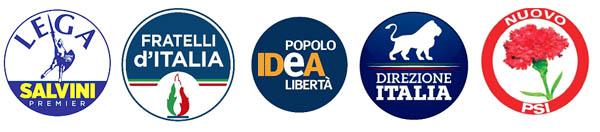 Nota congiunta delle segreterie provinciali di Lega, FDI, Idea, Direzione Italia e Nuovo PSI