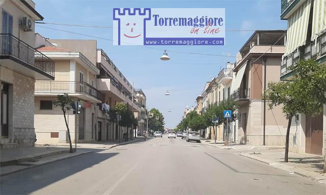 E' stato rimosso il cordolo centrale su Via Luigi Rossi a Torremaggiore: ecco la foto e l'atto ufficiale