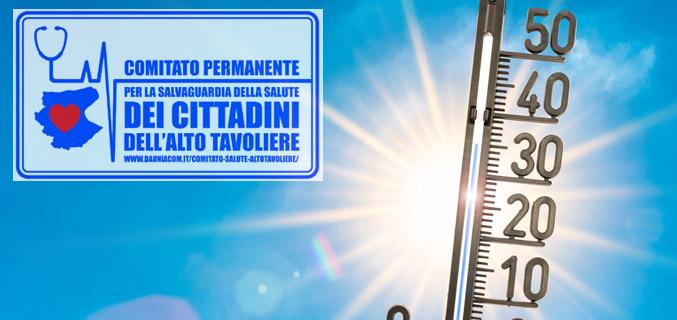 Dal Comitato Salute Alto Tavoliere dieci consigli utili per difendersi dal caldo estivo