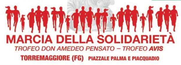Al via la 13^ edizione della Marcia della Solidarietà, gara podistica il 10 novembre 2019 a Torremaggiore