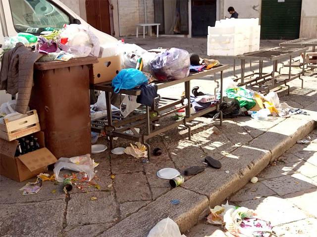 Degrado a Piazza Mazzini: nota della Lega Puglia sezione di Torremaggiore