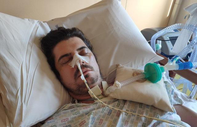 Dai social un SOS per il 37enne sanseverese Domenico Morsillo ricoverato all'Hospice di Torremaggiore : servono fondi per curarsi negli USA