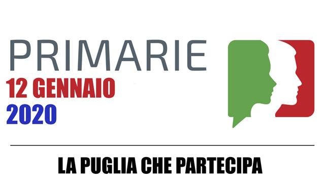Domenica 12 gennaio 2020 primarie della coalizione di centro sinistra per la scelta del candidato Governatore per le Regionali di maggio in Puglia. Anche a Torremaggiore ci sarà il seggio aperto dalle 8 alle 20