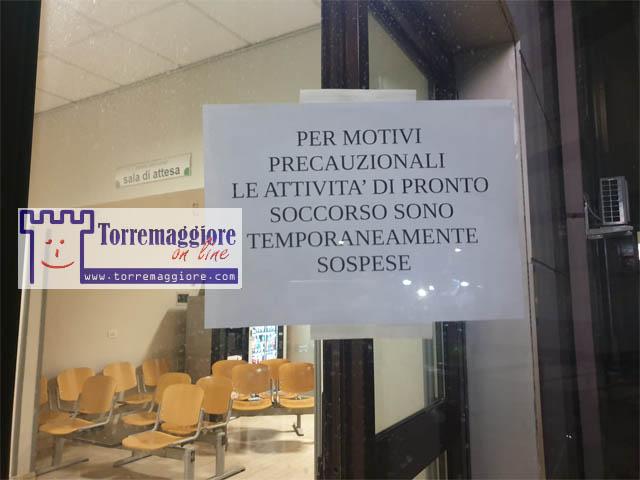 Sospetto caso di Coronavirus a San Severo: chiuso il Pronto Soccorso per bonifica, si attende esito del tampone da Bari