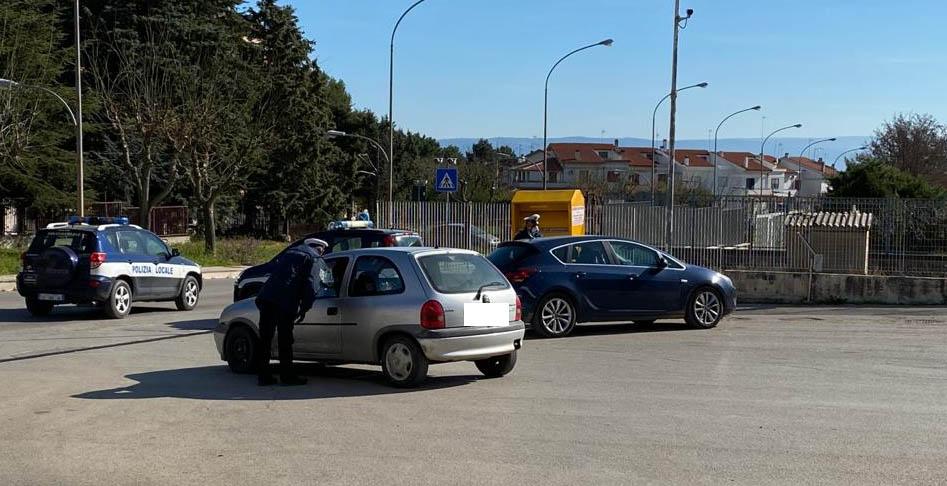 Torremaggiore: in corso controlli della Polizia Locale