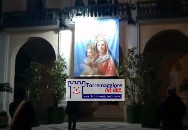Filmato dell'atto di affidamento della città di Torremaggiore alla Madonna della Fontana