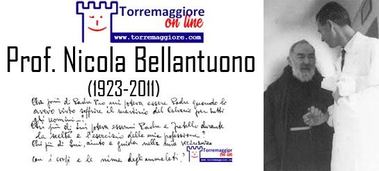 Il 13 aprile 2011 veniva a mancare il Prof Nicola Bellantuono, Torremaggiore.Com non dimentica
