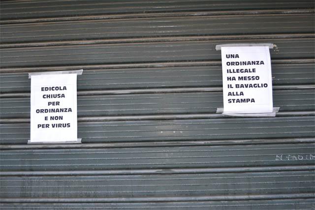 Edicole chiuse a Torremaggiore, lettera aperta di Peppino Lamedica al sindaco Emilio Di Pumpo