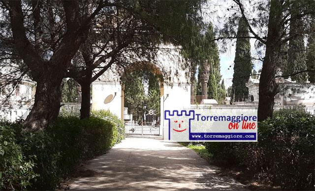 Cimitero Comunale di Torremaggiore chiuso domenica 27 dicembre 2020 per maltempo