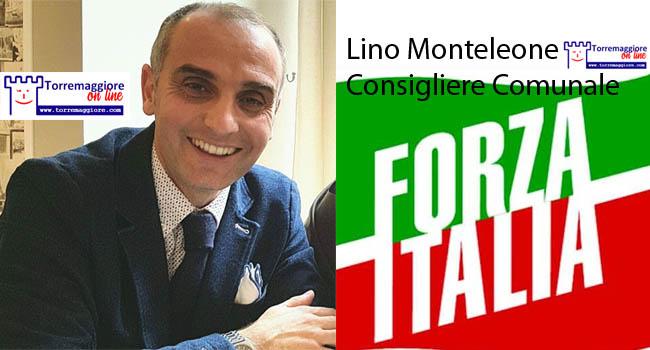 Riflessione di Lino Monteleone (Forza Italia) sul concorso della Polizia Locale  a Torremaggiore