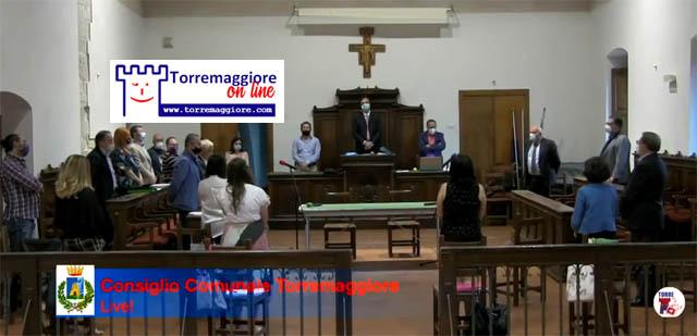Filmato integrale del consiglio comunale di Torremaggiore del 20 luglio 2020