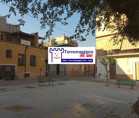 Torremaggiore: ripulita l'area verde tra Via Foggia e Via Montebello il 27 giugno 2020
