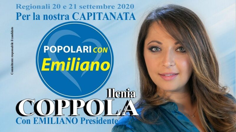 Regionali Puglia 2020: la torremaggiorese Ilenia Coppola è candidata al consiglio regionale nella lista Popolari con Emiliano